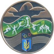 2 Hryvni (Games of the ХХХІ Olympiad) – revers