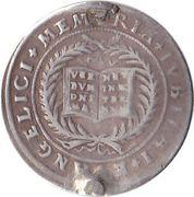 2 ducat (frappe en argent) – revers