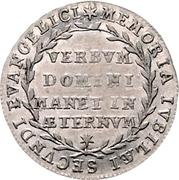 1 Ducat (Silver pattern strike; Reformation) – revers