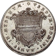 2 Ducat (Silver pattern strike; Augsburg Confession) – avers