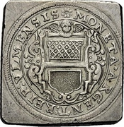 1 Gulden (Siege coinage) -  avers