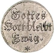 ½ ducat (Frappe essai en argent; Reformation) – revers