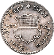 ½ Ducat (Silver pattern strike; Augsburg Confession) – avers