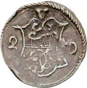2 Pfennig – avers