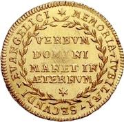 1 Ducat (Reformation) – revers