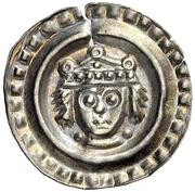 1 Brakteat - Konrad IV. and Konradin – avers