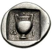 Hemidrachm (Uncertain mint) – revers