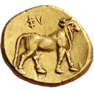 ¼ Stater  (Unknown mint) – revers