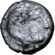 Obol (Leierblume Type) – avers