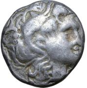 Drachm (Lysimachoskopf Type) – avers