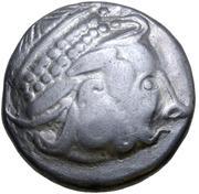 Tetradrachm (Kinnloser Type) -  avers
