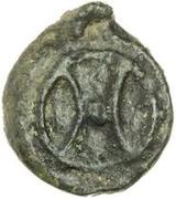 1 uncia (roue archaïque / roue archaïque) – avers