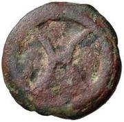 1 uncia (roue archaïque / valuer) – avers