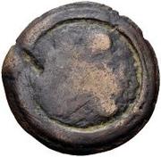 1 quadrans (roue archaïque / valuer) – revers