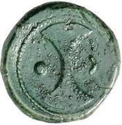 1 uncia (roue / hache; frappé) – revers