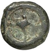 1 sextans (roue archaïque / roue archaïque) – avers