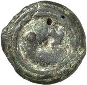 1 sextans (roue archaïque / roue archaïque) – revers