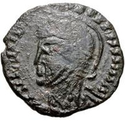 Æ bronze Au nom de Constantine I, 306-337 (buste face à gauche; sans podium) – avers