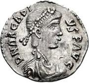 ½ silique Au nom d'Arcadius, 395-408 – avers
