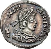 1 silique Au nom de Julian II, 361-363 – avers