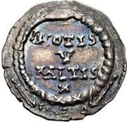 1 silique Au nom de Julian II, 361-363 – revers