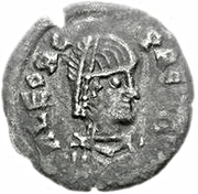 ¼ silique Au nom de Leo I, 457-474 – avers