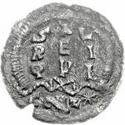 ¼ silique Au nom de Leo I, 457-474 – revers