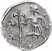 ¼ silique Au nom de Majorian, 457-461 – revers