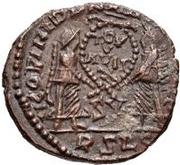 Æ bronze Au nom de Decentius, 351-352 – revers