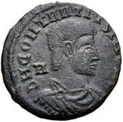 Æ bronze Au nom de Constantius Gallus, 352-354 – avers
