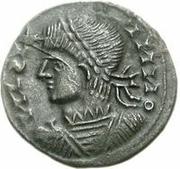 Æ bronze Au nom de Constantine II, 337-340 – avers