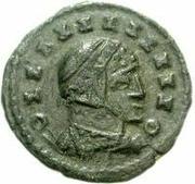 Æ bronze Au nom de Constantine I, 306-337 (buste face à droite; podium creux) – avers