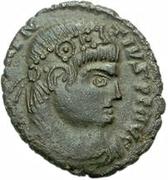 Æ bronze Au nom de Magnentius, 350-353 -  avers
