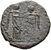 Æ bronze Au nom de Constantine I, 306-337 (buste face à gauche; sans podium) – revers