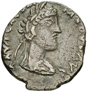 1 denarius Imitant Commode, 177-192 – avers