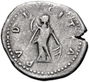 1 denarius Imitant Faustine l'Ancienne, 138-140 – revers
