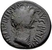 Æ inconnu Imitant Antonin le Pieux, 138-161 – avers