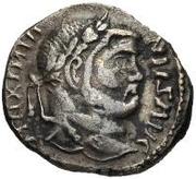 1 argenteus Imitant Maximien, 285-305 – avers