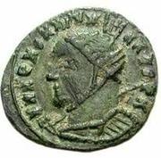 Æ bronze Au nom de Constantine I, 306-337 (buste face à gauche; avec podium) – avers