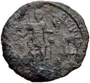 Æ bronze Au nom de Valens, 364-378 -  avers