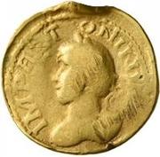 1 Quinarius - Imitating Marcus Aurelius, 161-180 – avers