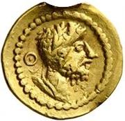 1 Quinarius - Imitating Lucius Verus, 161-169, or Septimius Severus, 193-211 – avers