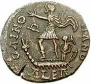 Æ bronze Au nom de Gratian, 367-383 – revers
