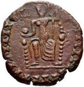 Æ bronze Au nom de Valentinian II, 375-392 – revers