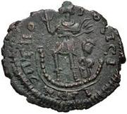 Æ bronze Au nom de Theodosius I, 379-395 – revers