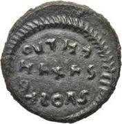 Æ bronze Au nom de Constantine I, 306-337 (inscription esquissée) – revers