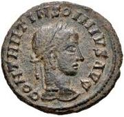Æ bronze Au nom de Constantine II, 337-340 ou Constantius II, 337-361 (buste face à droite) – avers