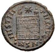 Æ bronze Au nom de Constantine II, 337-340 ou Constantius II, 337-361 (buste face à droite) – revers