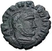 Æ bronze Au nom de Constantine I, 306-337 (inscription en bloc) – avers