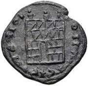 Æ bronze Au nom de Constantine II, 337-340 ou Constantius II, 337-361 (buste face à gauche) – revers